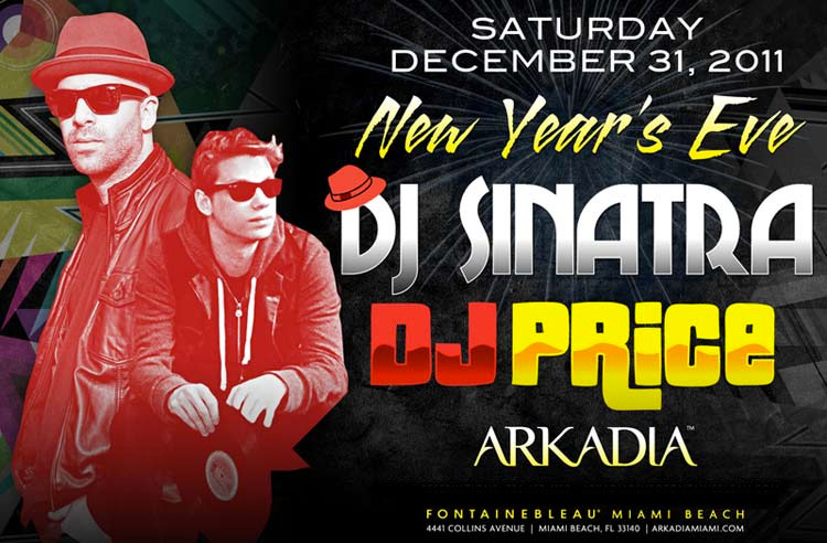 Arkadia New Years Eve