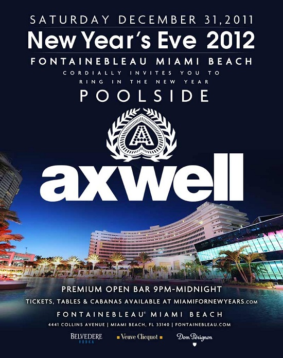 Fontainebleau Poolside New Years Eve