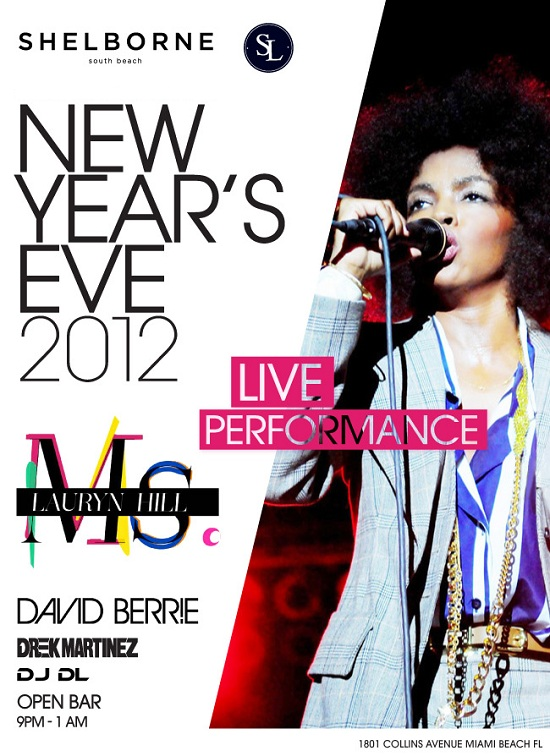 Shelborne Miami New Years Eve